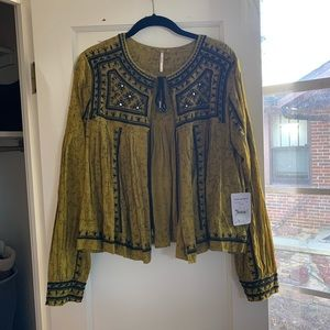 free people new with tag top